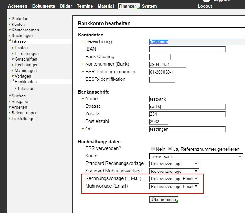 Versions Geschichte Virtuelle Vereinsverwaltung Online